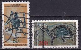 BRD 1978 Fossilien Kompletter Satz Michel 974 / 975 - Gebruikt