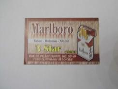 Malboro - Carte De Fidelité - Publicité
