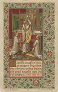 HOLY CARD, LITHO ST. AUGUSTIN, CARD 32, J.J. PONCELET? OCHAMPS 1814, BASTOGNE, NEUFCHATEAU, MORTEHAN, DOYEN, LOUETTE - Images Religieuses