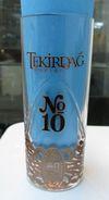 AC - TEKIRDAG RAKI No 10  BRAND NEW GLASS FROM TURKEY - Other Bottles