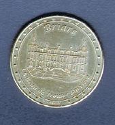 France Medailles, Jeton Touristique De Briare, Le Chateau De Trousse-Barriere - Monnaie De Paris