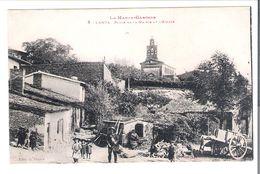 CP  D 31           LANTA  Place De La Mairie   Garde Champetre  Tambour - France
