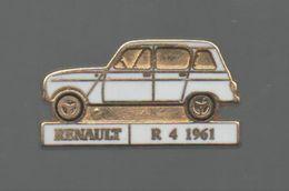 PINS PIN'S AUTO RENAULT 4L 4 L  AUTOMOBILE R4 1961 EGF - Renault