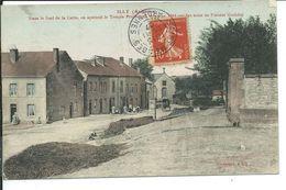 Illy-Dans Le Fond On Aperçoit Le Temple Protestant Erigé En 1884 Par Le Pasteur Goulden - Frankrijk