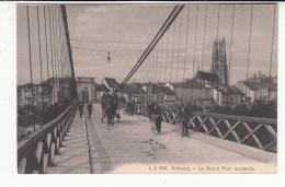 Suisse - FR - Fribourg - Grond Pont Suspendu - FR Fribourg