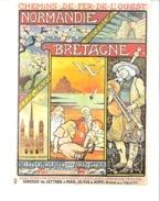Chemin De Fer De L' Ouest 1897-NORMANDIE , BRETAGNE-Mont-St. Michel..reproduction Affiche De BERTHON Paul-Illustrateur - Berthon