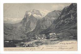 18848 -  Kleine Schneidegg Und Wetterhorn + Cachet Pub 1903 - BE Berne