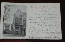 TOURNAI, MAISON B. BARDENBEWER, BOULEVARD LEOPOLD II, 16, CIRCULADA, SIN DIVIDIR - Bélgica