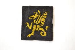 Repro Insigne Brodé 43e Division D'Infanterie Britanique 43 DI WWII WW2 RAOC (patch / écusson) - Patches