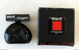 LEONARD - BALAHE - Eau De Toilette Pour Femme - Miniatures Modernes (à Partir De 1961)