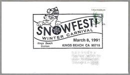 SNOWFEST WINTER CARNIVAL - CARNAVAL DE INVIERNO - Perro - Dog. Kings Beach CA 1991 - Karnaval