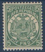TRANSVAAL N° YT 86 ** MNH  5 Livres  ( Probable Réimpression) - Transvaal (1870-1909)