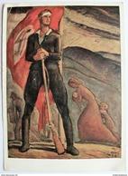 Sudetendeutsches Hilfswerk, Freikorpskämpfer Gruß, Franz, WKII / Postcard AK - Guerre 1939-45