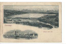 18855 -  Starnberg Gruss Vom See (Etat Moyen) - Starnberg