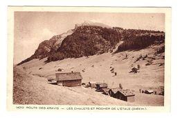 74 La Clusaz Col Des Aravis Les Chalets Et Rocher De L' Etale - La Clusaz