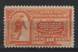 Stati Unitii 1893 Espressi Unif.E3 **/MNH VF/F - Signed Raybaudi - Express & Recommandés