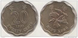 Hong Kong 20 Cents 1995 Km#67 - Used - Hong Kong
