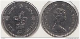 Hong Kong 1 Dollar 1978 Km#43 - Used - Hong Kong