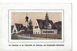 18857 -  Zur Erinnerung An Die Fahnenweihe Des Veteranen Und Kriegervereins Obermenzing - Muenchen