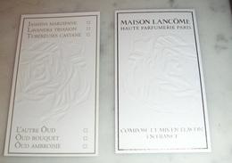 Carte Parfumée La Maison Lancôme - Modernes (à Partir De 1961)