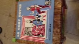 Vinyle  25 Cm Le Chat Botte  Livre Disque Editions Atlas - Children
