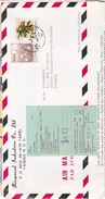 Lettre Document Commercial Air Mail Taiwan Tapei Douane China Epi Kingwand Industries Co Ltd - 1945-... República De China