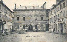 CPA Moulins La Bibliothèque - Moulins