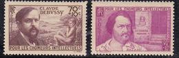 France 1939 N°Y.T. : 437 Et 438 ** - France
