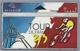 BE.- België. Telecard.- BELGACOM. TOUR DE FRANCE. - 325A29218 - GSM-Kaarten, Herlaadbaar & Voorafbetaald