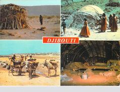 Afrique- DJIBOUTI  Campement Nomade  (Multi Vues)*PRIX FIXE - Djibouti
