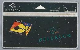BE.- België. Telecard.- BELGACOM. Double 7. RTBF CHARLEROI.- 312A58951 - GSM-Kaarten, Herlaadbaar & Voorafbetaald