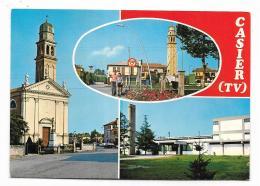 CASIER TREVISO - PIAZZA SAN PIO X - VIAGGIATA  FG - Treviso