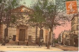 92 NEUILLY-sur-SEINE  Eglise Saint-Jean-Baptiste - Neuilly Sur Seine