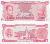 Venezuela 1989 - 5 Bolivares - Pick 70 UNC - Venezuela