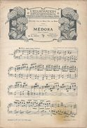 """Partition Cantate """"Medora"""" Concours Pour Le Grand Prix De Rome Raymond PECH Paul PIERNE Hélène FLEURY - Partituren"""