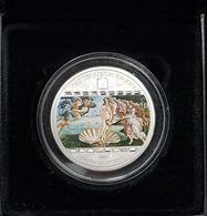Cook Islands 20 $ Masterpieces Of Art 2008 Sandro Botticelli - Venus.Silver 93.3gr,mintage 1500,15 Swarowski Cristall - Cook Islands