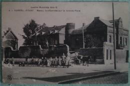 Auberchicourt - Guerre Mondiale 1914-18 Maison Bombardée Sur Le Grande Place - Frankreich