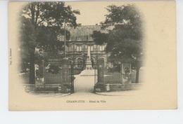CHAMPLITTE - Hôtel De Ville - France
