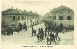 ITALIE   OSPITALETTO B  Via Reale Mattina  1919 - Italia