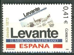 Espagne España 2006 Neuf - Edifil N° 4231 - Y&T N° - ** Levante El Mercantil Valenciano - 2001-10 Nuevos & Fijasellos
