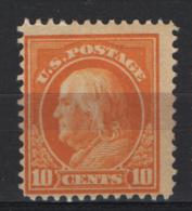 Stati Unitii 1912 Unif.263 **/MNH VF - Ongebruikt