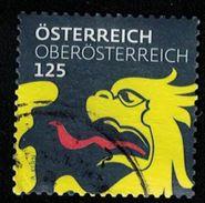 Autriche 2017 Oblitéré Used Coat Of Armes Armoiries Oberösterreich Haute Autriche Dragon SU - 2011-... Usati