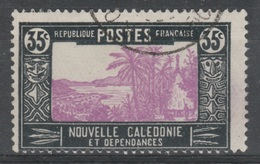 New Caledonia, Traditionnal Hut, 35c.,1928, VFU - New Caledonia
