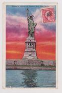 NEW YORK Harbor - Statue Of Liberty At Sunrise - (I. Underhill, N.Y.) - Statue De La Liberté