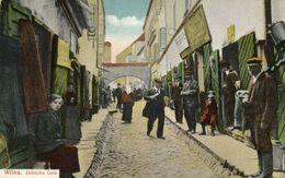 Lithuania Russia, VILNIUS WILNO WILNA, Jewish Alley (1910s) Judaica Postcard - Jewish