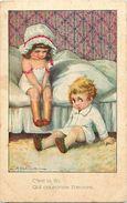 - Themes Div- Ref V572- Illustrateurs -illustrateur Bertiglia - Enfants - / Legeres Taches Par Endroits - - Bertiglia, A.
