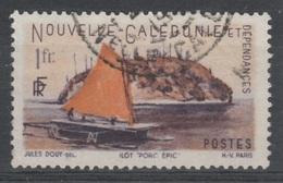 New Caledonia, Porcupine Islet, 1f., 1948, VFU - New Caledonia