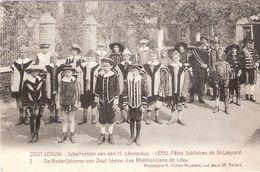 3 ZOUT-LEEUW- Jubelfeesten  Van Den H. Léonardus - ( +Fr. ) - Zoutleeuw