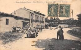 42 - LOIRE / Andrézieux - 42552 - Hôtel Vacheron - Beau Cliché Animé - Andrézieux-Bouthéon