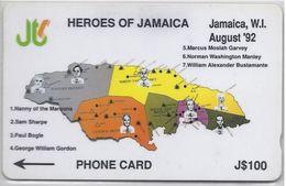 JAMAICA - HEROES OF JAMAICA - 9JAMB - Jamaica